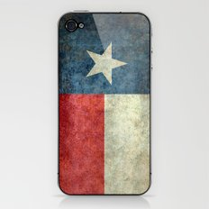 Lone Star State Flag of Texas iPhone & iPod Skin