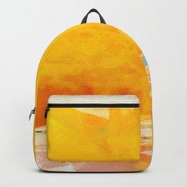 sunny landscape Backpack