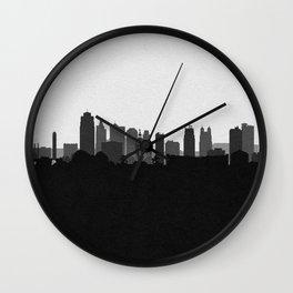 City Skylines: Kansas City (Alternative) Wall Clock