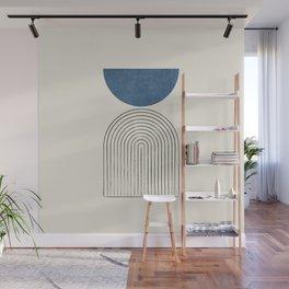 Arch Balance Blue Wall Mural