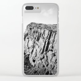 Salisbury Crags, Edinburgh Clear iPhone Case