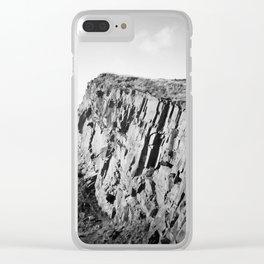 Salisbury Crags, Edinburgh Clear iPhone Case