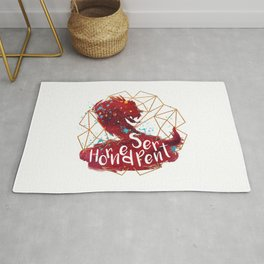 Horned Serpent Rug