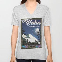 Yoho National park Canada Unisex V-Neck