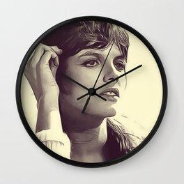Katharine Ross Wall Clock