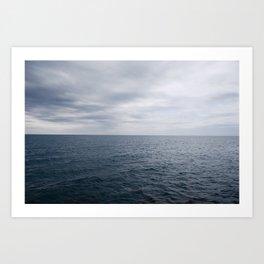 Lake Huron Art Print