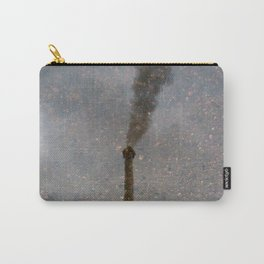 Factory Chimney  Reflection in Water Carry-All Pouch