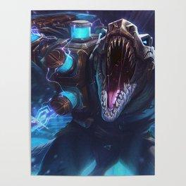 Hextech Renekton League of Legends Poster