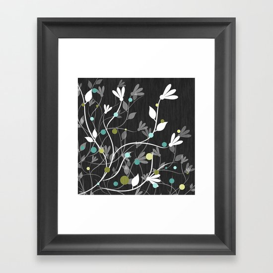 Nightfall Breeze Framed Art Print