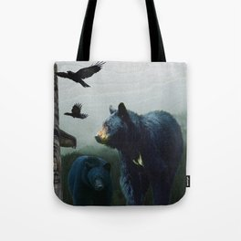 The Sacred Trail of the Great Bear Tote Bag