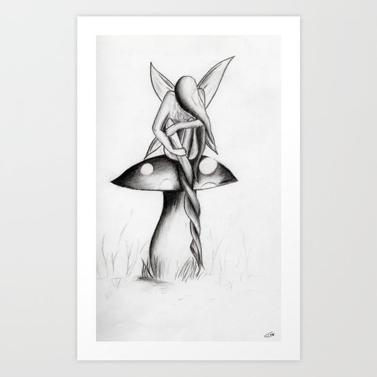 The Twist Art Print