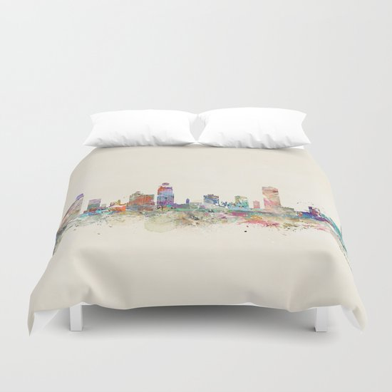 st petersburg florida Duvet Cover