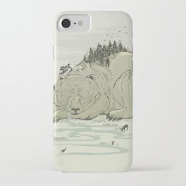 Hibernature iPhone Case