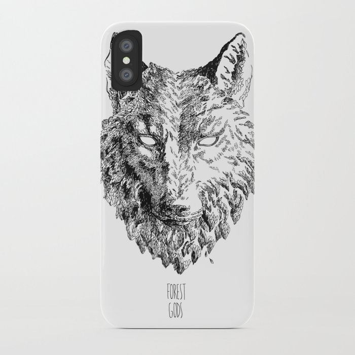 Forest Gods | Wolf iPhone Case