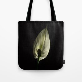 Spathiphyllum, Peace lily Tote Bag