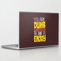 internet Laptop & iPad Skins featuring Internet Comments by Chris Piascik