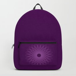 The Beauty of Geometry, Purple Backpack