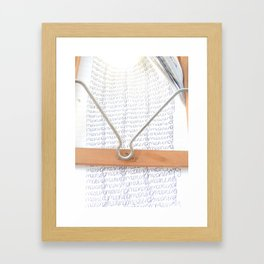 Meaning  Framed Art Print