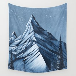 'Cystal Mountain I' Wall Tapestry
