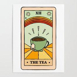 That's the TEA, sis tarot card Poster