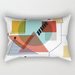 Bauhaus Kandinsky Modern Art Rectangular Pillow