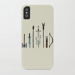 Fellowship of the arms iPhone Case