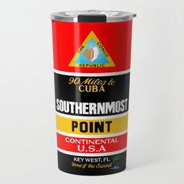 Southern Most Point, Key West, Florida/サザン・モスト・ポイント Travel Mug
