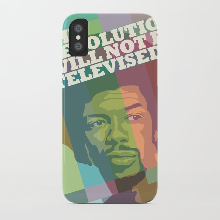 The revolution will not be televised iPhone Case
