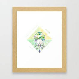Houseki no kuni - Jade Framed Art Print