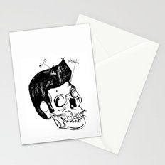 Elvis Skull Stationery Cards