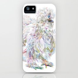 Silkie Chicken - Buchu iPhone Case