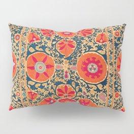 Kermina Suzani Uzbekistan Print Pillow Sham