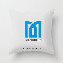 Modern Light Throw Pillow