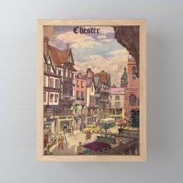 billboard Chester Framed Mini Art Print