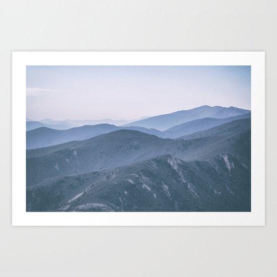 Hills #2 Art Print