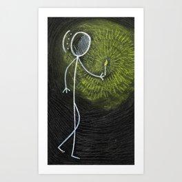 "#cagsticks ""In the dark"" Art Print"