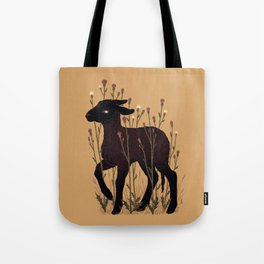 Black Lamb Tote Bag