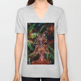 Mystic Tigress Unisex V-Neck