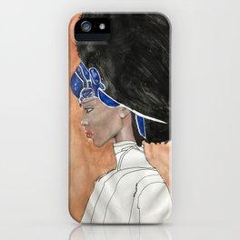 African American Queen iPhone Case