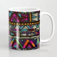 coasters Mugs featuring ▲HUIPIL▲ by Kris Tate