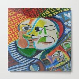 Picasso se peint Metal Print