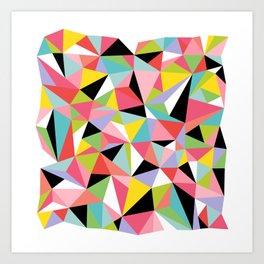 Geometric Jane Art Print