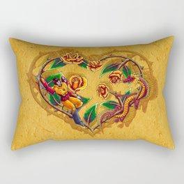 Rodimus and Roses Rectangular Pillow