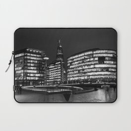 The Shard of Glass and the scoop Laptop Sleeve