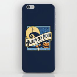 Halloween Moon iPhone Skin