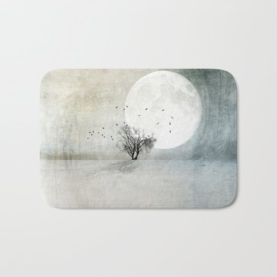 Only the Moon Knows Bath Mat