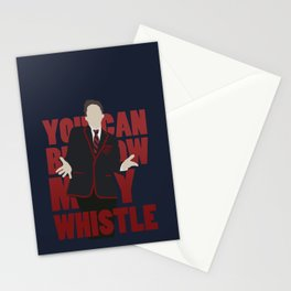Hunter Clarington - Whistle - Nolan Gerard Funk - Glee - Minimalist design Stationery Cards