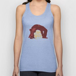 He's got the whole world in his hands Unisex Tank Top