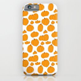 Patches of pumpkins iPhone Case