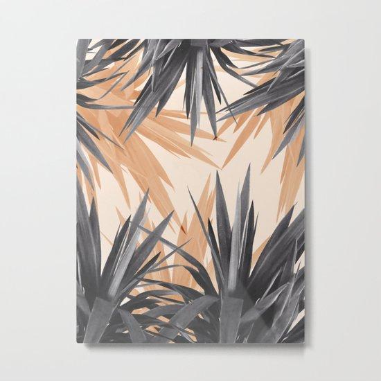 Orange Tropics Metal Print